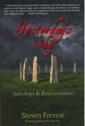 bokforside Yesterdays Sky, Astrology And Reincarnation, Steven Forrest