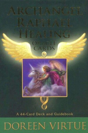 Forside Archangel Raphael Oraclecards Doreen Virtue