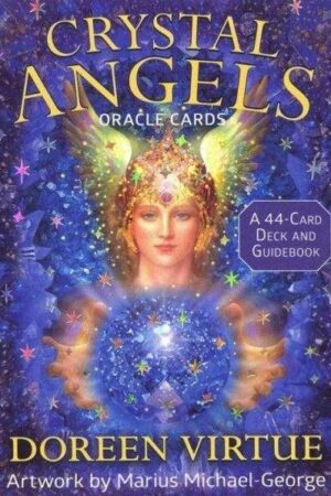 enkeltkort Crystal Angels Oracle Cards Doreen Virtue