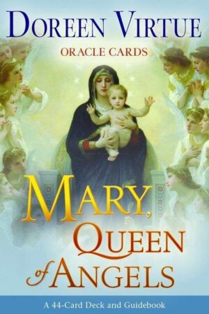 forsidecover Mary Queen Of Angels Oracle Cards