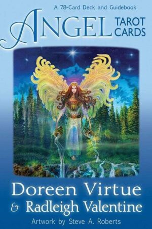 cover Angel Tarot A 78 Card Deck And Guidebook Doreen Virtue