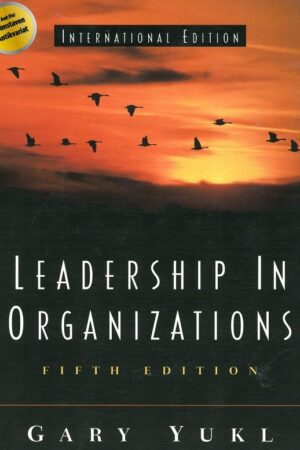 bokforside Gary Yukl, Leadership In Organizations