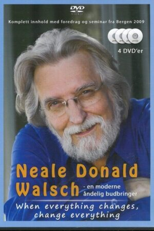 Cover hen Everything Changes, Change Everything. N.D. Walsch