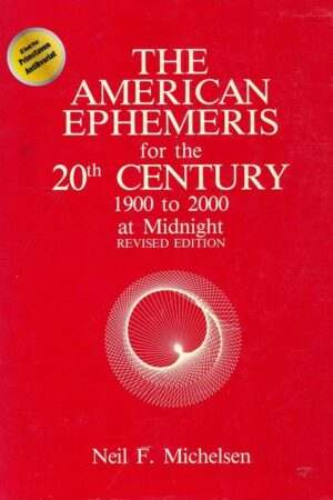 bokforside The American Ephemeris For The 20th Century 1900 2000 At Midnight