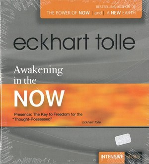 CD cover Lydbok Eckhart Tolle Awakening In The Now