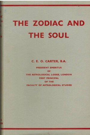 bokforside The Zodiaca Nd The Soul, C.E.O Carter