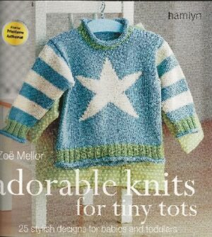 bokforside Adorable Knits for Tiny Tots