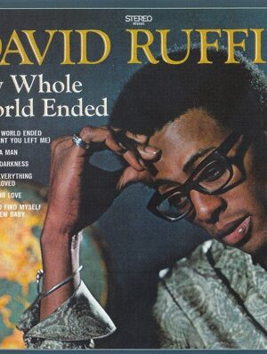 platecover DAVID RUFFIN My Whole World Ended, Vinyl, Lp
