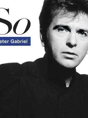 platecover So Peter Gabriel Vinyl, Lp