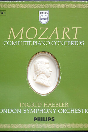 frontcover Mozart Ingrid Haebler, London Symphony Or. – Compl. Piano Con.