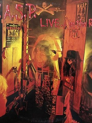 platecover W.A.S.P .Live In The Raw, Vinyl