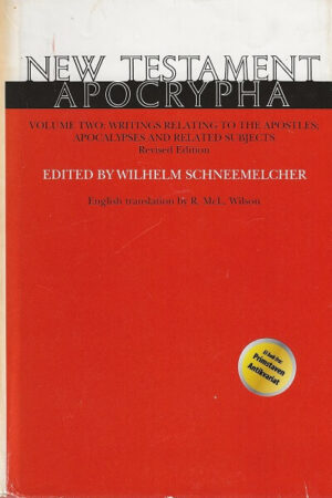bokforside New Testament Apocrypha, Vol 2