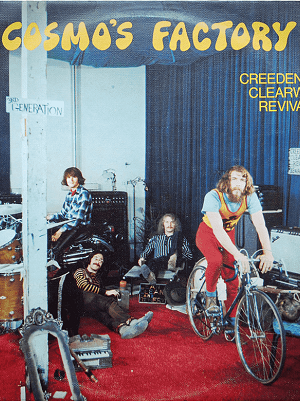 platecover Cosmos Factory, Creedence Clearwater Revival , Vinyl