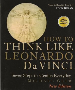 bokforside How to Think Like Leonardo Da Vinci