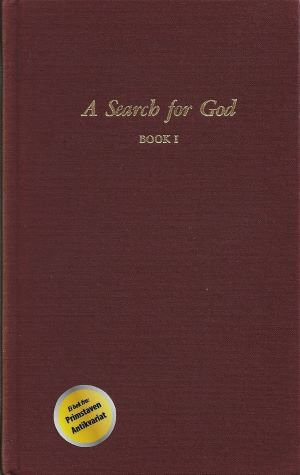 bokforside A Search for God, Book 1