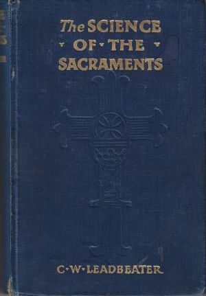 bokforsideThe Science of the Sacraments